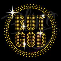 But God Circle Small Gold