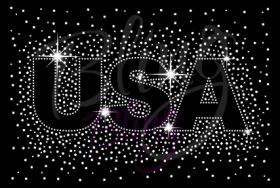 USA Sparkles Clear