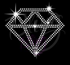 Diamond Rhinestone Transfer Bling RT-2780