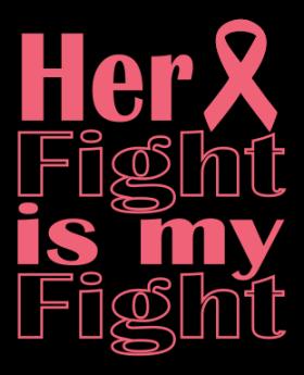 Her Fight Is My Fight Vinyl Transfer HTV 0163